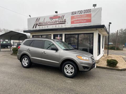2011 Hyundai Santa Fe for sale at Mechanicsville Auto Sales in Mechanicsville VA