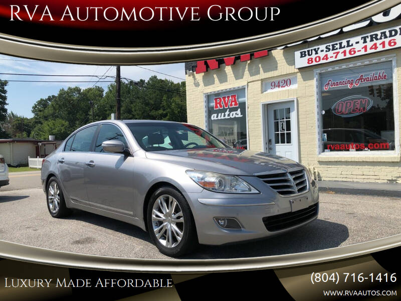 2009 Hyundai Genesis for sale at RVA Automotive Group in North Chesterfield VA