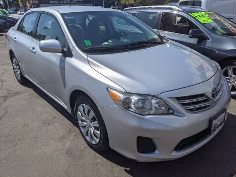2013 Toyota Corolla for sale at Convoy Motors LLC in National City CA