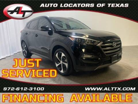2016 Hyundai Tucson for sale at AUTO LOCATORS OF TEXAS in Plano TX
