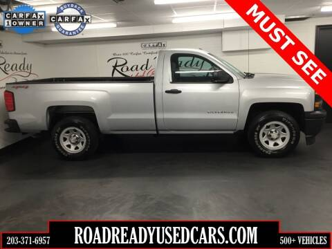 2014 Chevrolet Silverado 1500 for sale at Road Ready Used Cars in Ansonia CT