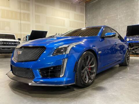 2018 Cadillac CTS-V for sale at Platinum Motors in Portland OR