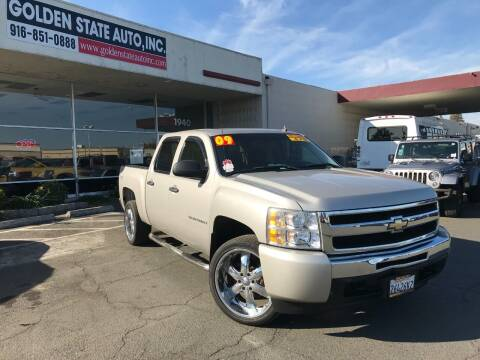 2009 Chevrolet Silverado 1500 for sale at Golden State Auto Inc. in Rancho Cordova CA