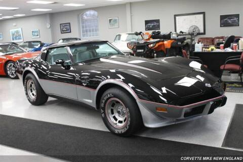 1978 Chevrolet Corvette for sale at Corvette Mike New England in Carver MA