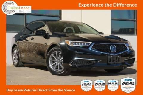 2020 Acura TLX for sale at Dallas Auto Finance in Dallas TX