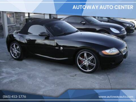2003 BMW Z4 for sale at Autoway Auto Center in Sevierville TN