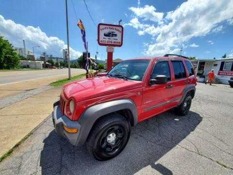 2004 Jeep Liberty for sale at Ford's Auto Sales in Kingsport TN