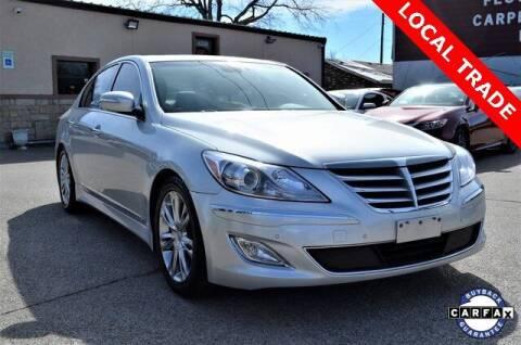 2012 Hyundai Genesis for sale at LAKESIDE MOTORS, INC. in Sachse TX