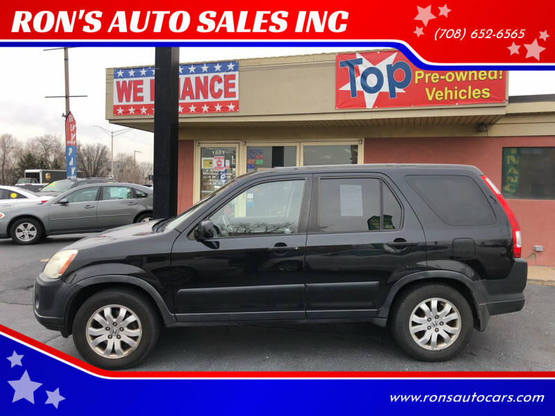 2005 Honda CR-V for sale at RON'S AUTO SALES INC in Cicero IL