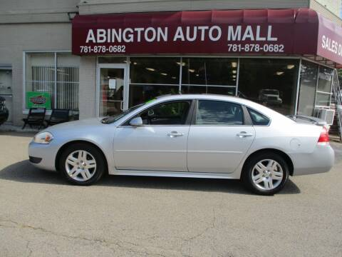 2011 Chevrolet Impala for sale at Abington Auto Mall LLC in Abington MA