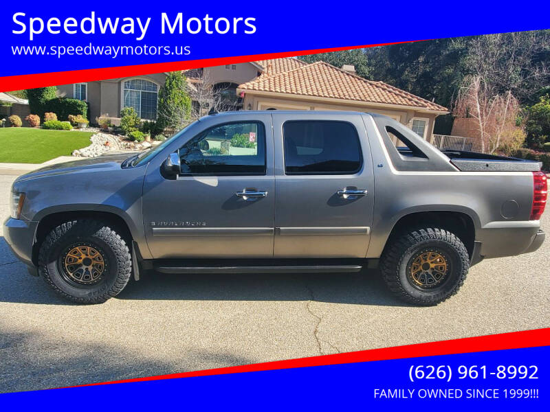 2008 Chevrolet Avalanche for sale at Speedway Motors in Glendora CA