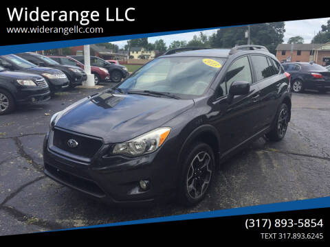 2013 Subaru XV Crosstrek for sale at Widerange LLC in Greenwood IN