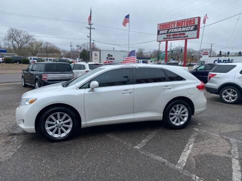 2012 Toyota Venza for sale at Christy Motors in Crystal MN