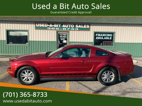 2007 Ford Mustang for sale at Used a Bit Auto Sales in Fargo ND