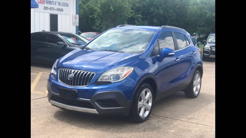 2016 Buick Encore for sale at Discount Auto Company in Houston TX