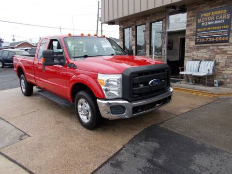 2011 Ford F-250 Super Duty for sale at Preferred Motor Cars of New Jersey in Keyport NJ