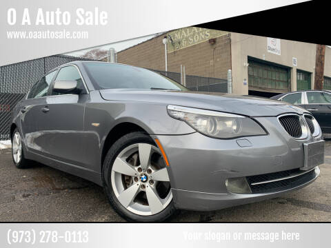 2008 BMW 5 Series for sale at O A Auto Sale in Paterson NJ