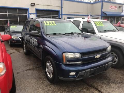 2004 Chevrolet TrailBlazer for sale at Klein on Vine in Cincinnati OH