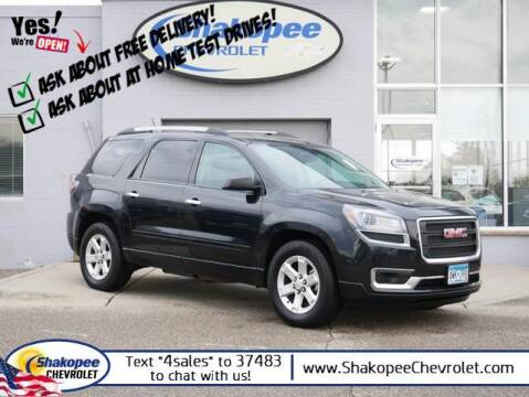 2015 GMC Acadia for sale at SHAKOPEE CHEVROLET in Shakopee MN