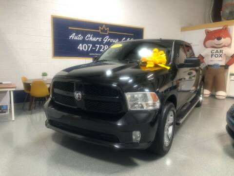 2016 RAM Ram Pickup 1500 for sale at Auto Chars Group LLC in Orlando FL