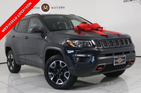 2017 Jeep Compass for sale at INDY'S UNLIMITED MOTORS - UNLIMITED MOTORS in Westfield IN