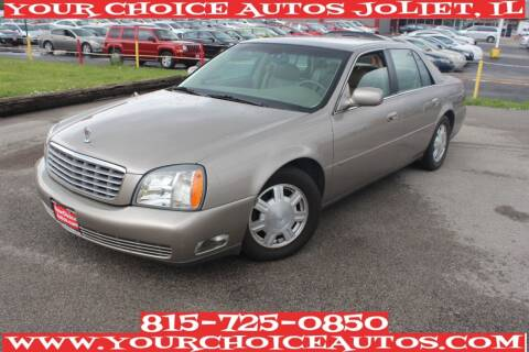 2004 Cadillac DeVille for sale at Your Choice Autos - Joliet in Joliet IL