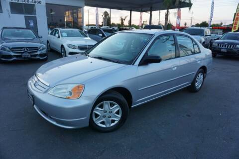 2003 Honda Civic for sale at Industry Motors in Sacramento CA