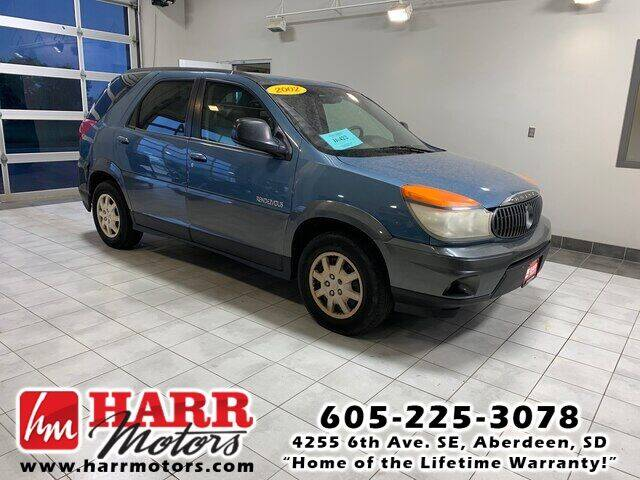 2002 Buick Rendezvous for sale at Harr Motors Bargain Center in Aberdeen SD
