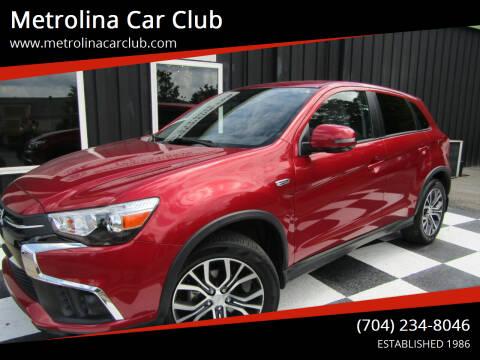 2018 Mitsubishi Outlander Sport for sale at Metrolina Car Club in Matthews NC