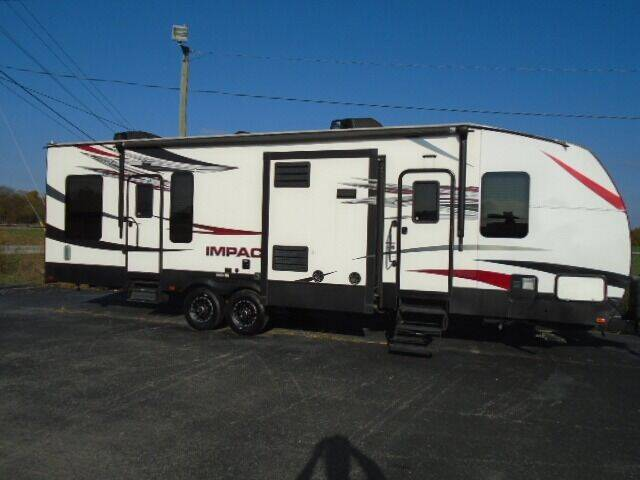 2016 Impact  IP312 (Toy Hauler) for sale at Lee RV Center in Monticello KY