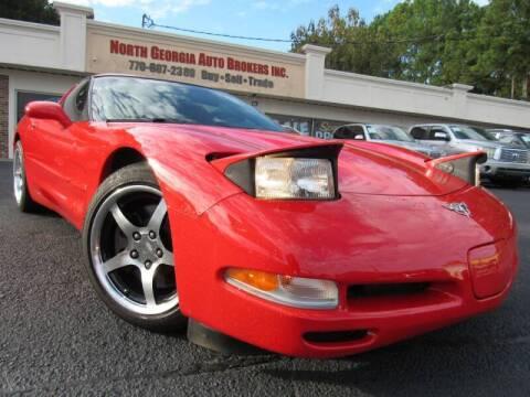2003 Chevrolet Corvette for sale at North Georgia Auto Brokers in Snellville GA