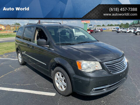 2012 Chrysler Town and Country for sale at Auto World in Carbondale IL