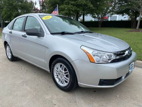 2011 Ford Focus for sale at UNITED AUTO WHOLESALERS LLC in Portsmouth VA