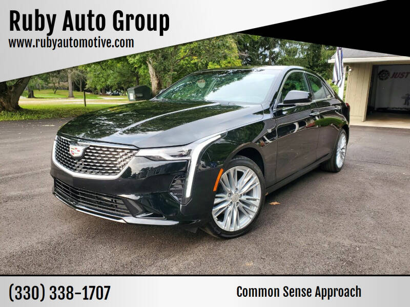 2020 Cadillac CT4 for sale at Ruby Auto Group in Hudson OH