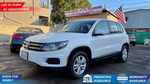 2012 Volkswagen Tiguan for sale at San Diego Auto Traders in San Diego CA