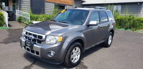 2012 Ford Escape for sale at Persian Motors in Cornelius OR