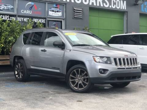 2016 Jeep Compass for sale at CARUCARS LLC in Miami FL