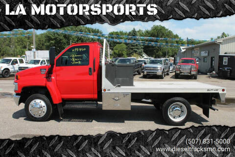 2008 GMC C5500 for sale at LA MOTORSPORTS in Windom MN