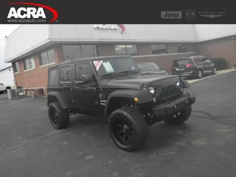 2014 Jeep Wrangler Unlimited for sale at BuyRight Auto in Greensburg IN