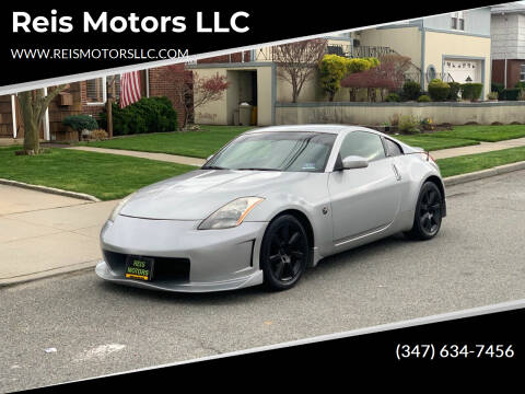 2005 Nissan 350Z for sale at Reis Motors LLC in Lawrence NY