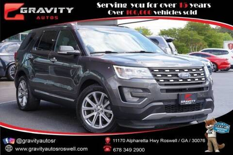 2017 Ford Explorer for sale at Gravity Autos Roswell in Roswell GA