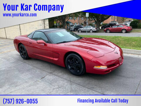 2004 Chevrolet Corvette for sale at Your Kar Company in Norfolk VA