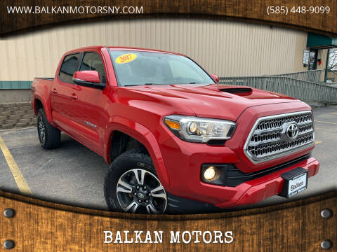 2017 Toyota Tacoma for sale at BALKAN MOTORS in East Rochester NY