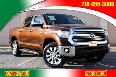 2017 Toyota Tundra for sale at El Compadre Trucks in Doraville GA