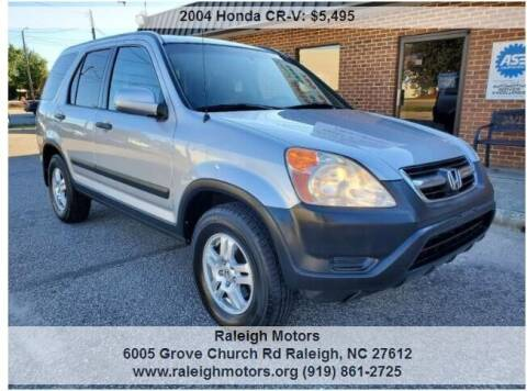 2004 Honda CR-V for sale at Raleigh Motors in Raleigh NC