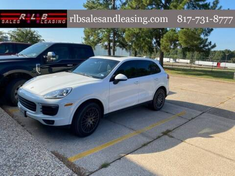 2017 Porsche Cayenne for sale at RLB Sales and Leasing in Fort Worth TX