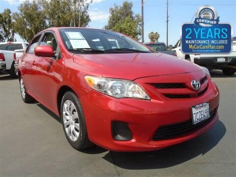 2012 Toyota Corolla for sale at Centre City Motors in Escondido CA