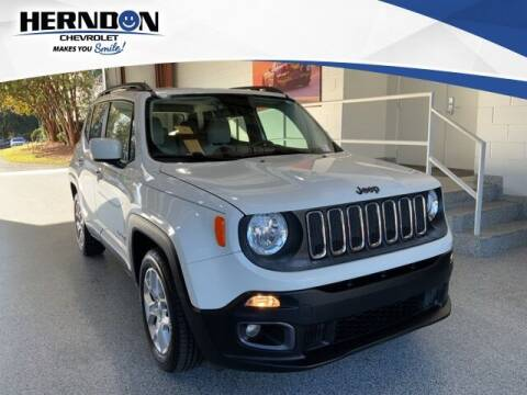 2016 Jeep Renegade for sale at Herndon Chevrolet in Lexington SC