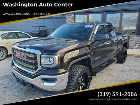 2018 GMC Sierra 1500 for sale at Washington Auto Center in Washington IA