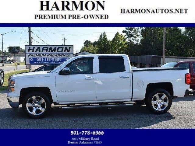 2014 Chevrolet Silverado 1500 for sale at Harmon Premium Pre-Owned in Benton AR